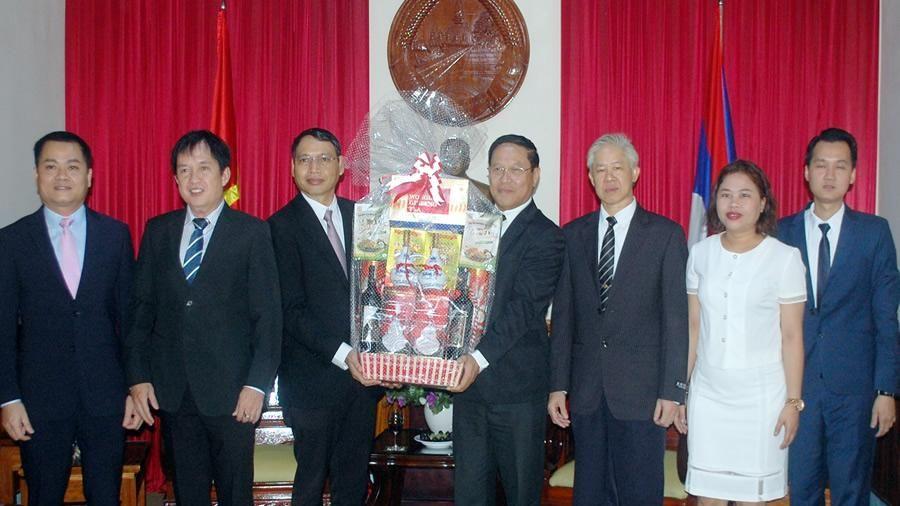 Lãnh đạo TP Đà Nẵng chúc mừng Quốc khánh nước CHDCND Lào