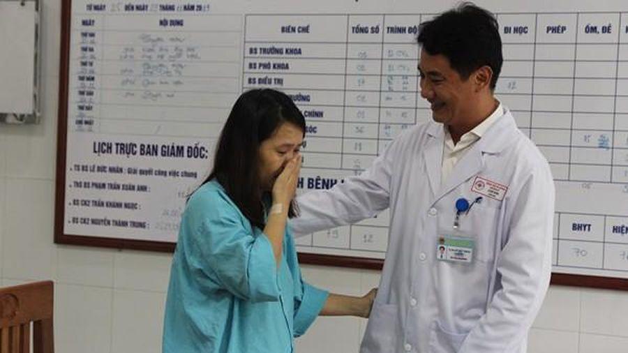 Sản phụ nguy kịch khi mổ gây mê tại Đà Nẵng được điều trị bình phục