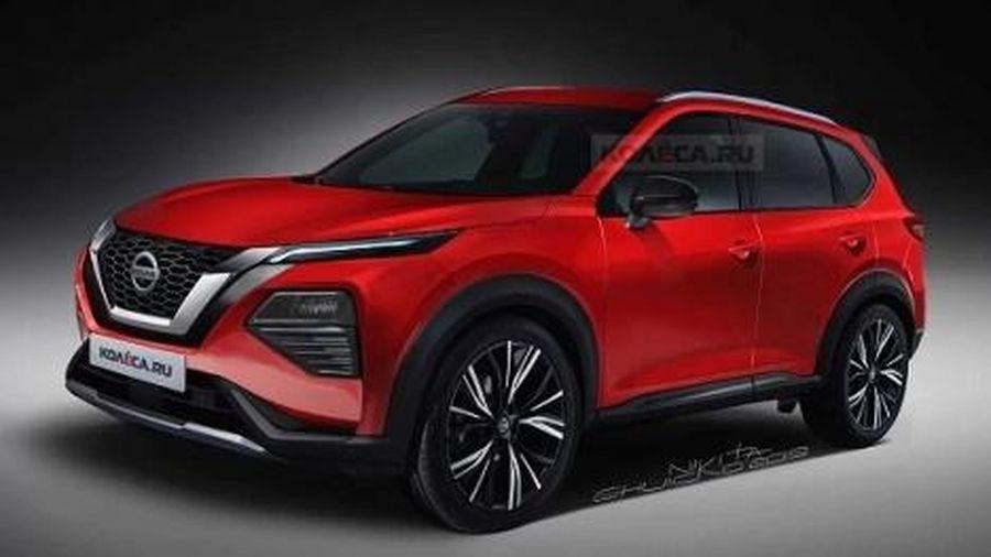 'Cận cảnh' Nissan X-trail thế hệ mới vừa lộ diện