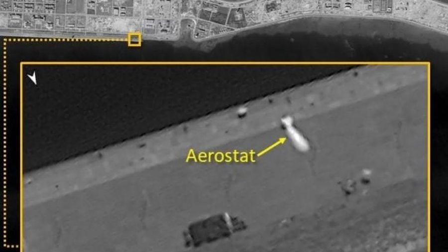 Ảnh vệ tinh cho thấy khinh khí cầu Trung Quốc hoạt động phi pháp ở Trường Sa