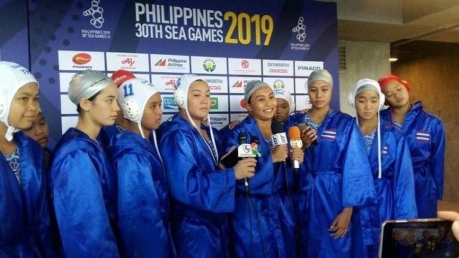 HCV đầu tiên của SEA Games 30 thuộc về các nữ cầu thủ bóng nước Thái Lan