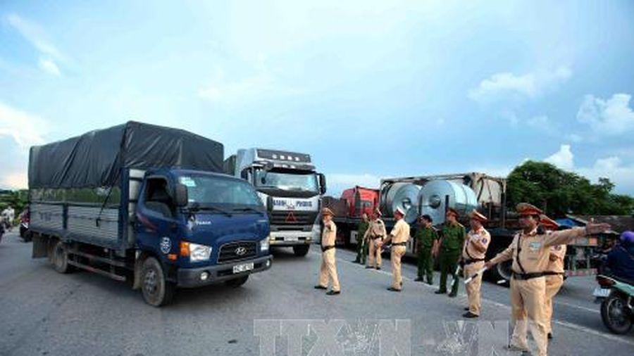 Dồn lực đảm bảo an toàn giao thông dip Tết Canh Tý 2020