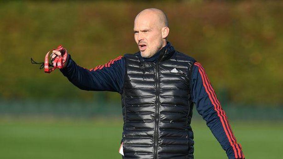 Những tia hy vọng trong buổi tập đầu tiên của Arsenal dưới sự chỉ đạo của huấn luyện viên tạm quyền Freddi Ljungberg