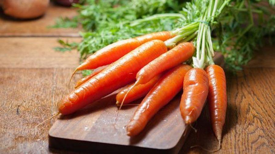 Công dụng 'thần kỳ' của cà rốt