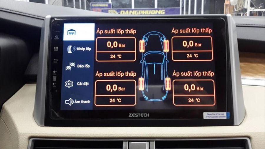 Có nên lắp bộ cảm biến áp suất lốp ô tô hay không?