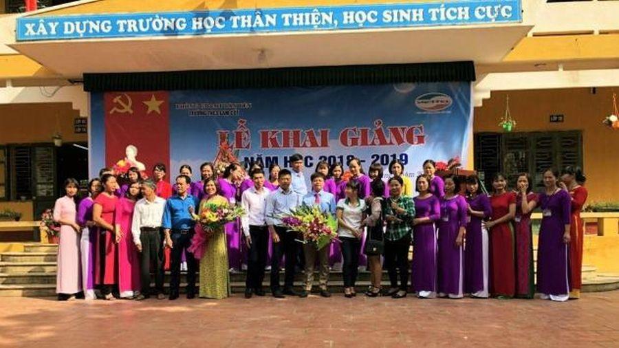 Trường THCS Lam Cốt – Xây dựng môi trường giáo dục chất lượng, chắp cánh những ước mơ bay cao