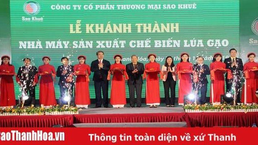 Công ty CP thương mại Sao Khuê khánh thành Nhà máy sản xuất chế biến lúa gạo tại xã Đông Hoàng
