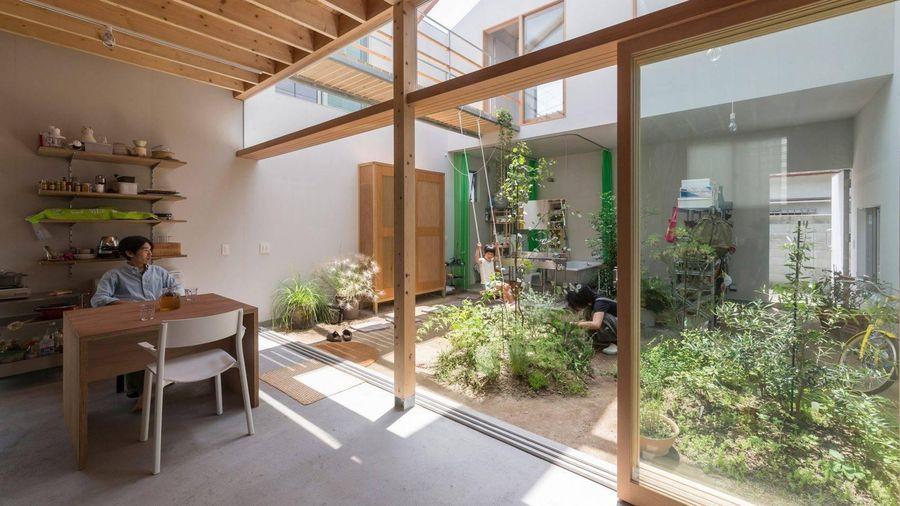 Độc đáo ngôi nhà xóa ranh giới giữa nội thất và ngoại thất