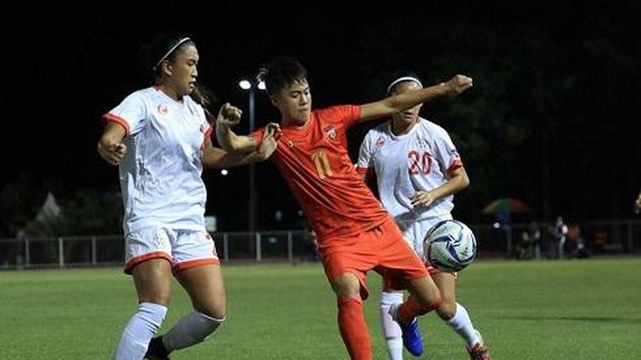 ĐT nữ Philippines vào bán kết SEA Games, có thể gặp ĐT nữ Việt Nam