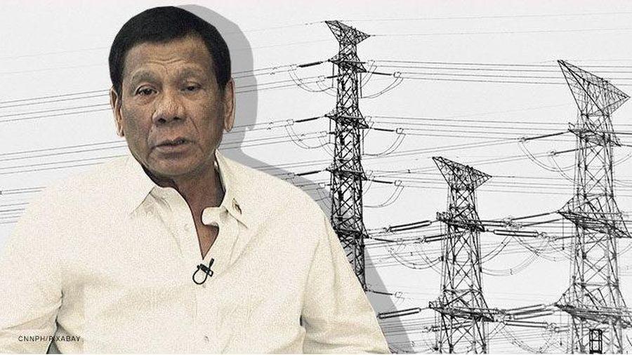 Tổng thống Duterte: Sẽ có cãi vã lớn nếu Trung Quốc can thiệp mạng lưới điện Philippines