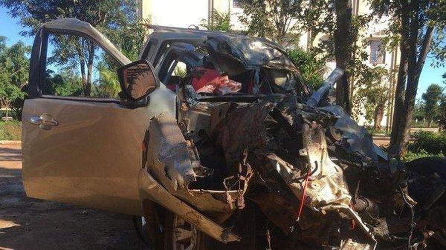 Gia Lai: Hiện trường tai nạn thảm khốc 3 người chết, 3 người bị thương