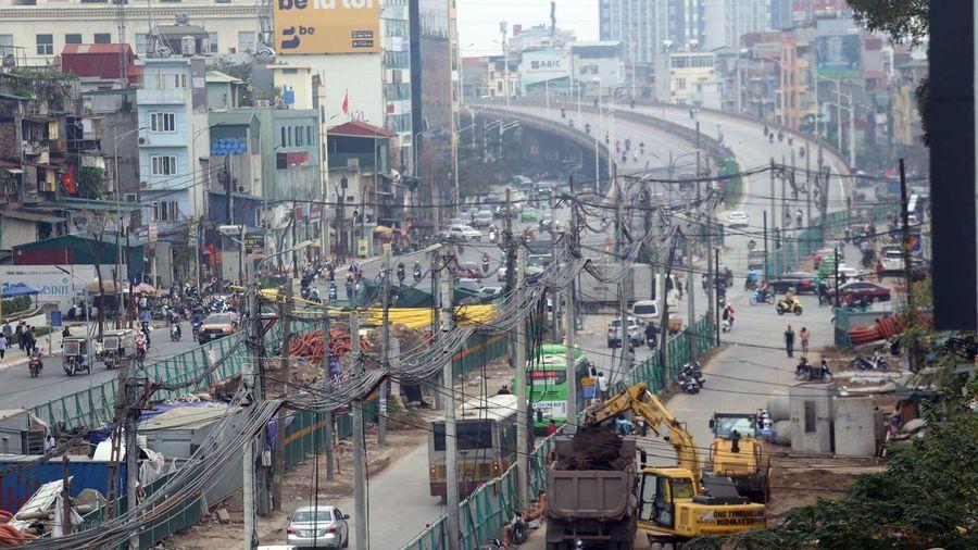 Tổ chức lại giao thông qua cầu Mai Động để làm đường Vành đai 2