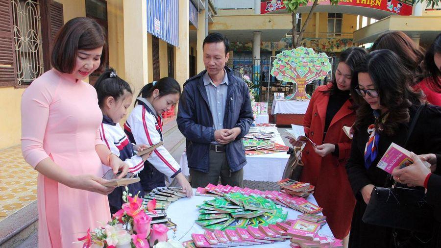 Đọc sách trở thành nét đẹp của Trường tiểu học Chu Văn An