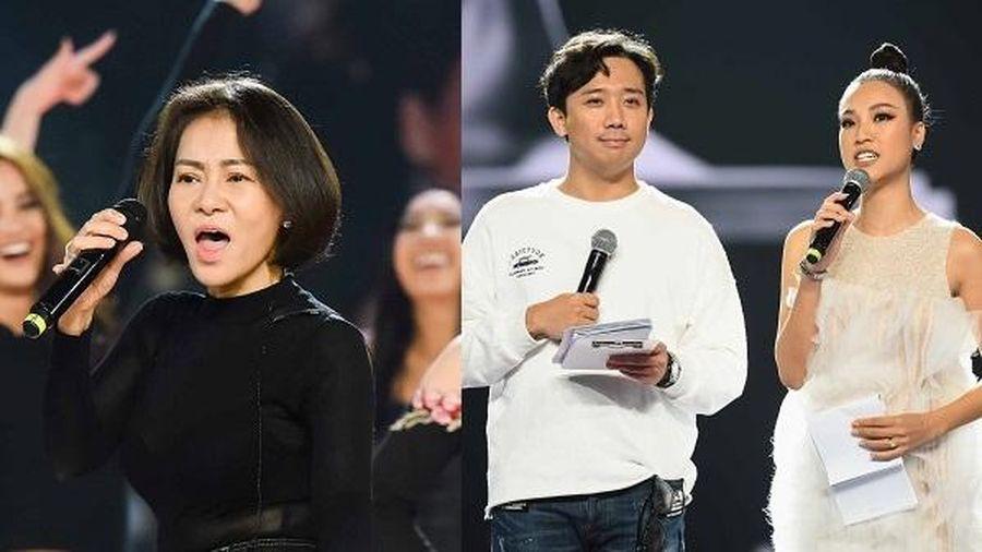 Thu Minh, Hoàng Oanh tích cực tổng duyệt cho chung kết 'Hoa hậu Hoàn vũ Việt Nam 2019'
