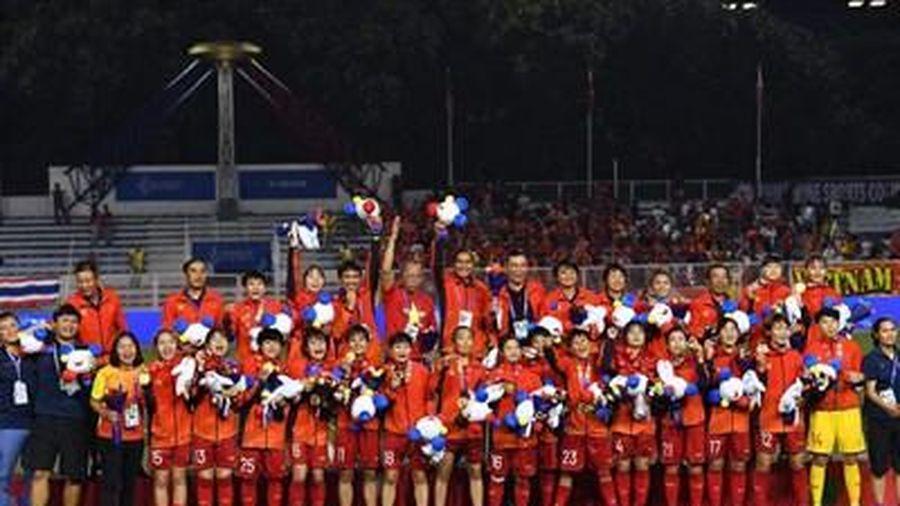 Đội tuyển nữ Việt Nam giành Huy chương Vàng SEA Games 30: Tuyệt vời những cô gái vàng