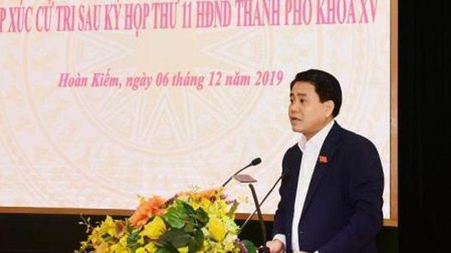 Chủ tịch UBND TP. Hà Nội Nguyễn Đức Chung:'Tôi đọc nguyên văn theo báo cáo của văn phòng'