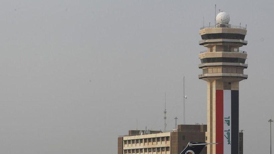 Sân bay quốc tế Baghdad suýt bị trúng rocket