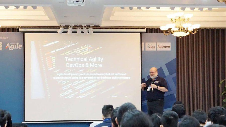Gần 200 doanh nghiệp bàn về chuyển đổi số tại Hội nghị Agile Việt Nam