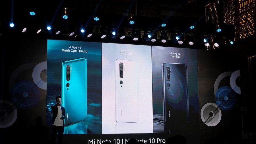 Xiaomi ra mắt Mi Note 10, điện thoại 'siêu camera' tại Việt Nam, giá từ 13 triệu đồng