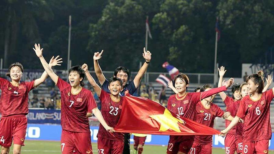Việt Nam vô địch bóng đá nữ lần 6
