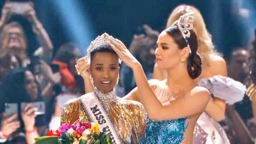 Người đẹp Nam Phi đăng quang Hoa hậu Hoàn vũ Thế giới 2019