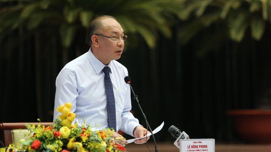 Tướng Lê Đông Phong nói về cho vay lãi nặng và đòi nợ thuê