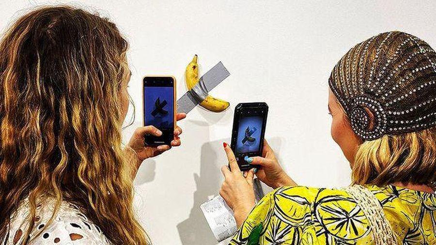 Tác phẩm nghệ thuật 120.000 USD bị ăn ngay tại triển lãm