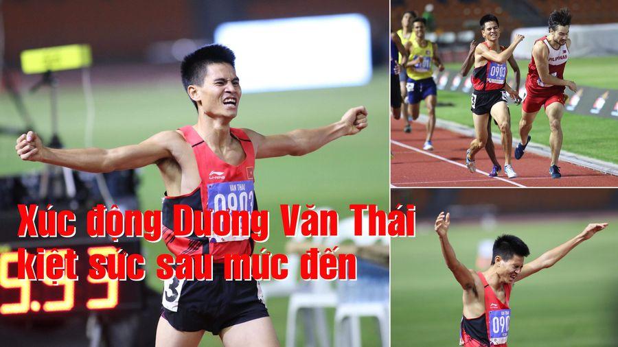 Xúc động nhà vô địch Dương Văn Thái kiệt sức sau mức đến