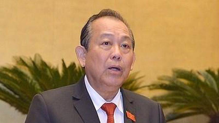 Phó Thủ tướng Trương Hòa Bình thăm CHDCND Lào và Vương Quốc Campuchia