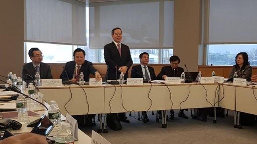 Đoàn đại biểu cấp cao Việt Nam tham dự Chương trình Lãnh đạo quản lý cao cấp (VELP)
