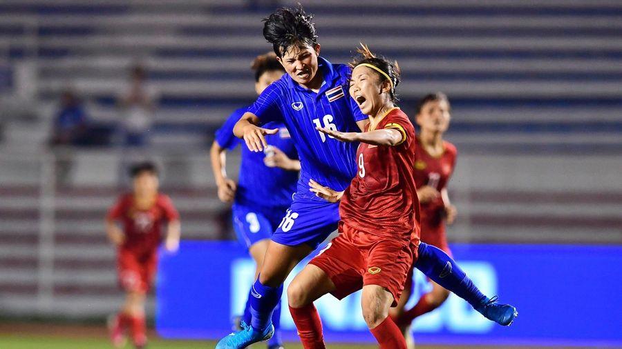 Mồ hôi, máu và nước mắt đưa tuyển nữ Việt Nam gặt vàng SEA Games