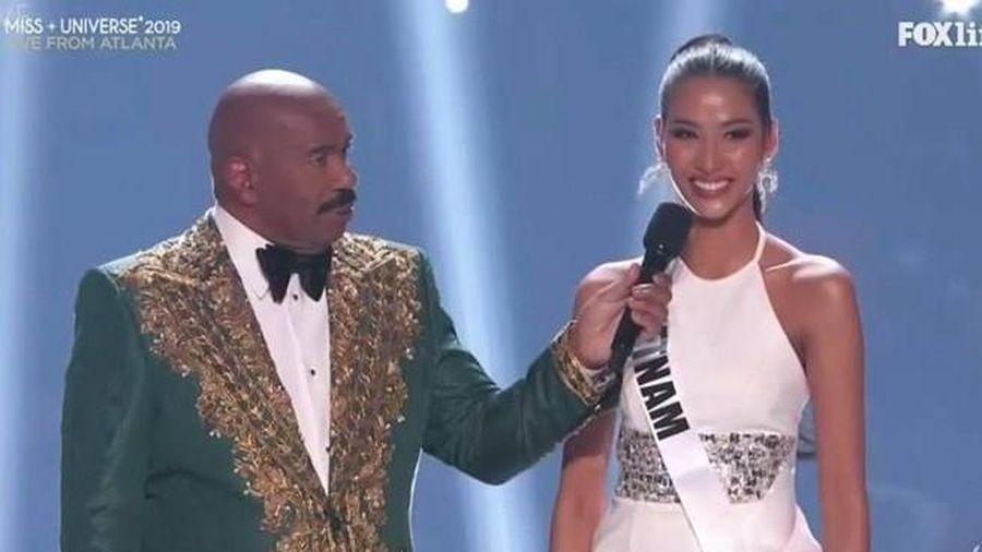 Hoàng Thùy lọt vào top 20 Hoa hậu Hoàn vũ thế giới 2019