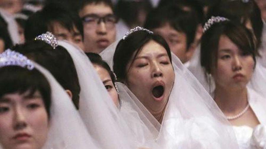 Người phụ nữ Nhật Bản 38 tuổi theo mẹ đi xem mắt