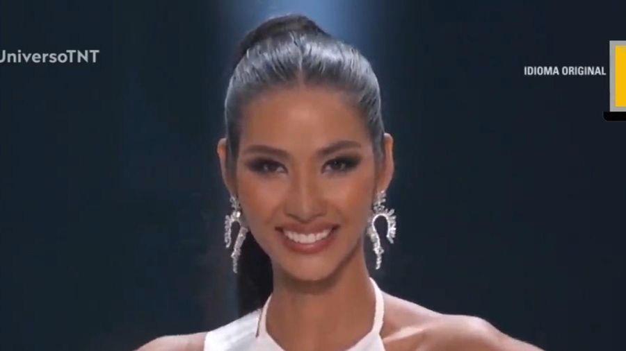 Hoàng Thùy nói tiếng Anh trôi chảy ở chung kết Miss Universe