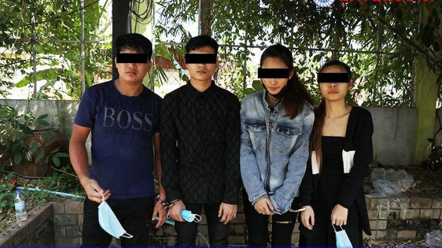 Campuchia bắt giữ 6 người Việt với gần 100 kg ma túy đá