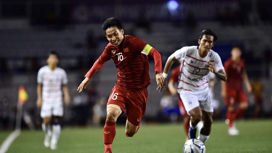 Trưởng đoàn thể thao Việt Nam tin tưởng thầy trò HLV Park giành HCV