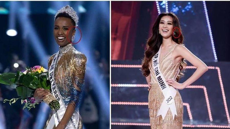 Điểm giống nhau giữa tân Hoa hậu Hoàn vũ và Nguyễn Trần Khánh Vân