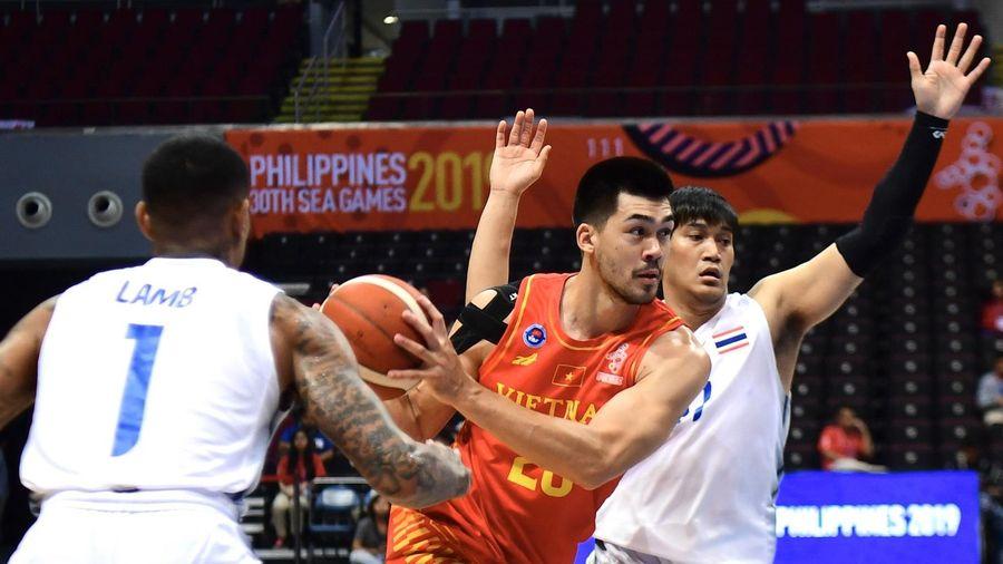 Tuyển bóng rổ Việt Nam thua Thái Lan