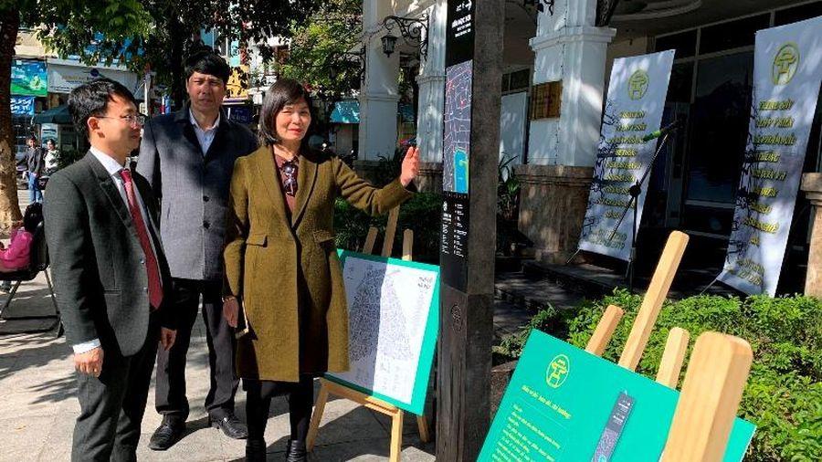 Hà Nội trưng bày và lấy ý kiến về logo du lịch làng nghề