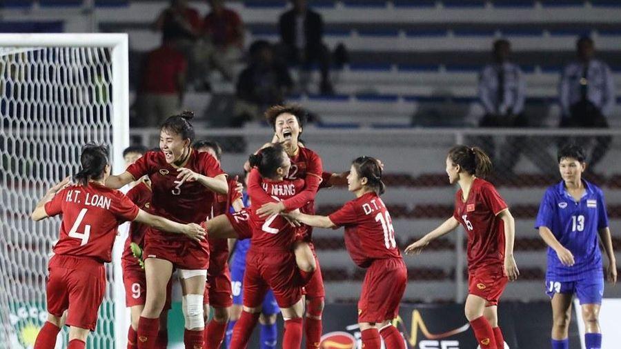 Giành HCV SEA Games 30, bóng đá nữ Việt Nam xứng danh số 1 Đông Nam Á