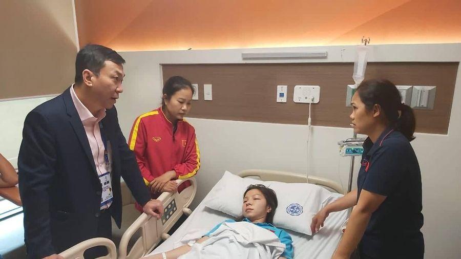 Tuyển thủ nữ Việt Nam nhập viện sau trận đấu với Thái Lan