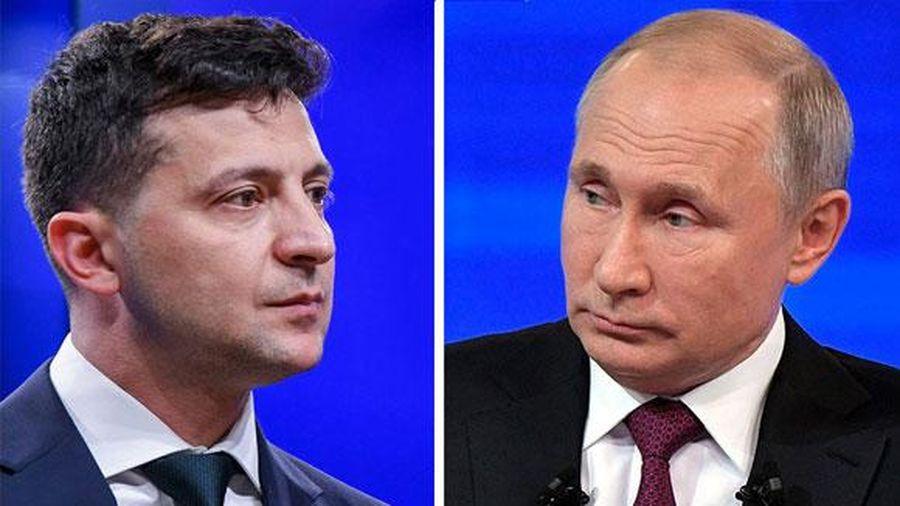 Tổng thống Putin, Zelensky gặp mặt ở Paris để bàn thỏa thuận Minsk