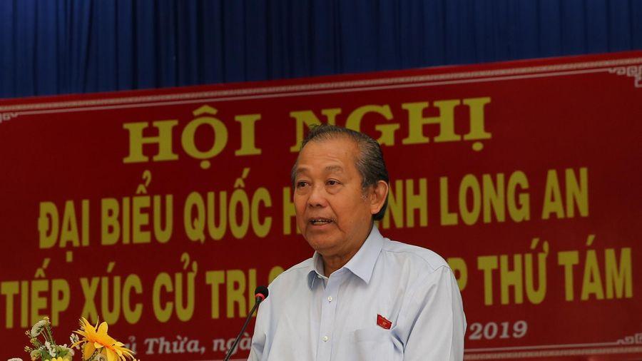 Phó Thủ tướng Thường trực tiếp xúc cử tri