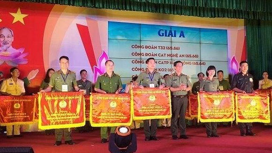 Tặng giải 'Đoàn viên Công đoàn CAND tiêu biểu' vào Tháng Công nhân