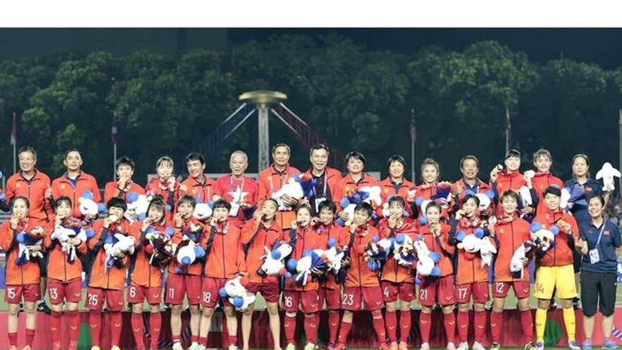 Bóng đá nữ Việt Nam vô địch