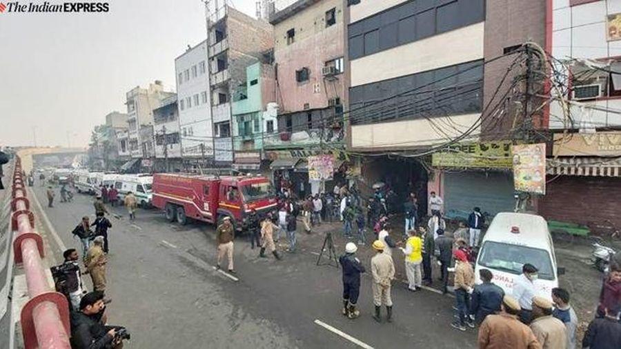 Cháy lớn tại Ấn Độ, ít nhất 43 người chết