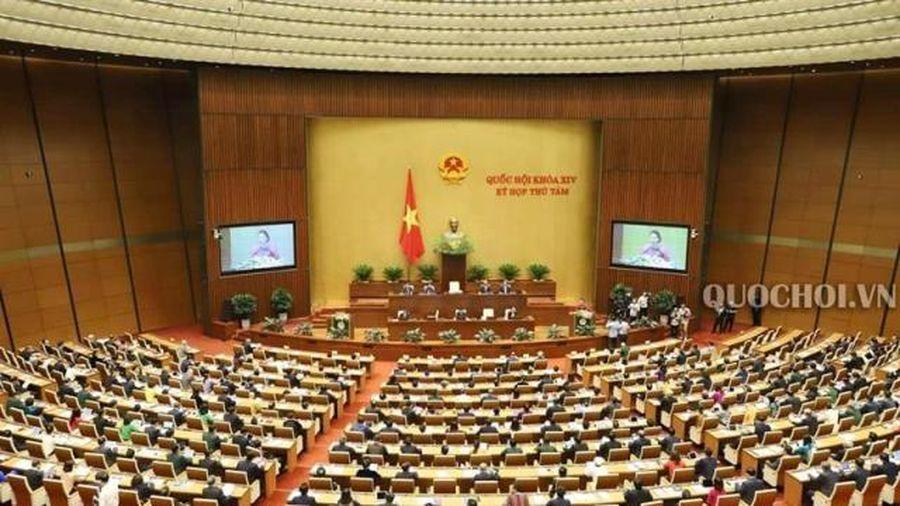 Công bố các Nghị quyết của Quốc hội và Nghị quyết của Ủy ban Thường vụ Quốc hội