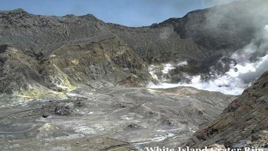 Núi lửa phun trào tại New Zealand: Số người thiệt mạng tiếp tục tăng