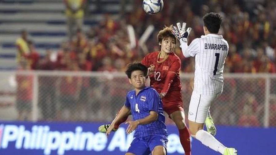 Thắng tuyển Thái Lan, Bóng đá nữ Việt Nam vẫn chiếm 'ngôi hậu'