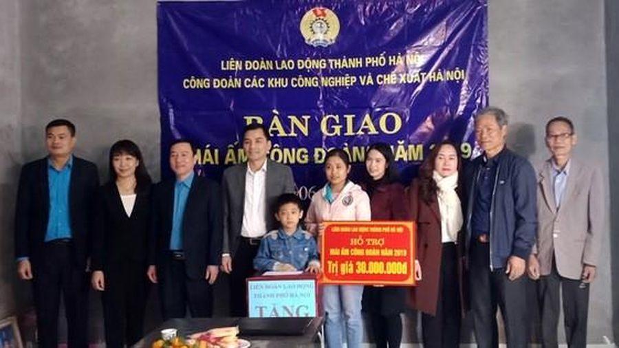 Hà Nội: Giúp công nhân nghèo an cư